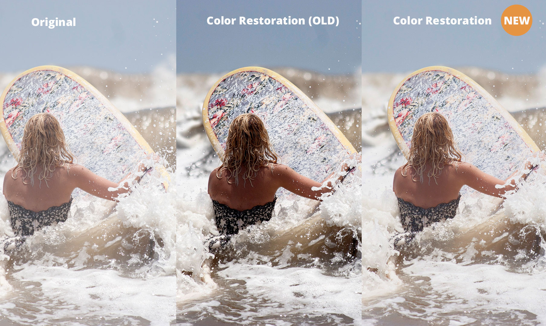 Robust Color Restoration