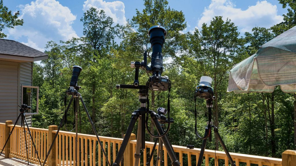 Cameras & Lenses & Tripods Oh My await the beginning of Eclipse 2017